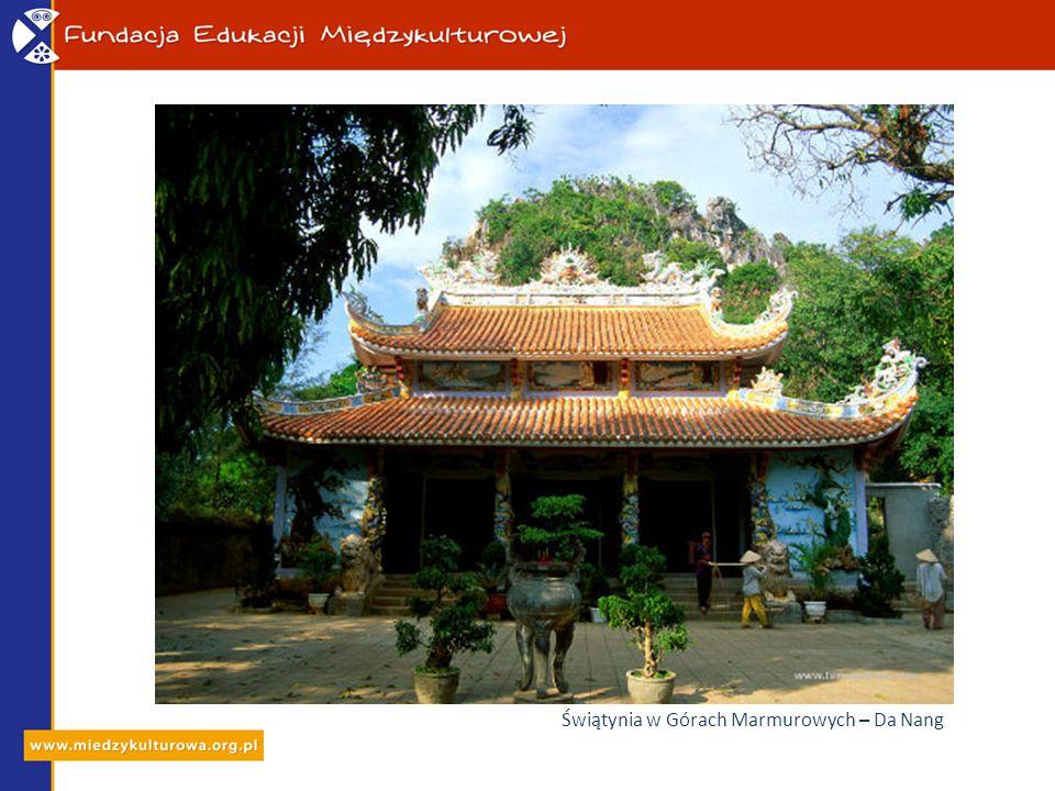 Świątynia w Górach Marmurowych – Da Nang