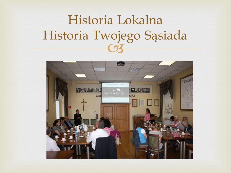 Historia Lokalna Historia Twojego Sąsiada