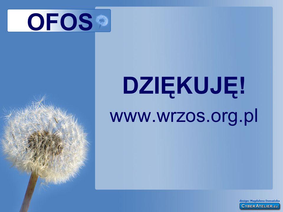 OFOS DZIĘKUJĘ! www.wrzos.org.pl