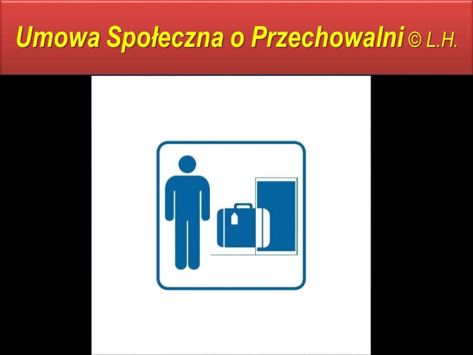 Umowa Społeczna o Przechowalni © L.H.