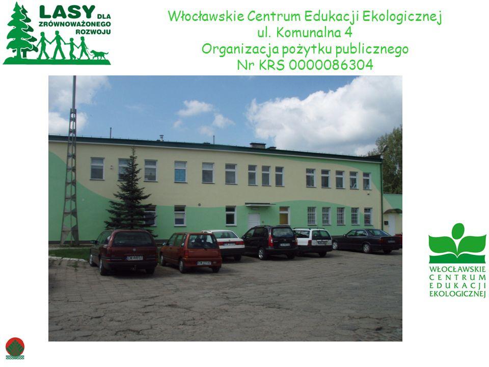 Włocławskie Centrum Edukacji Ekologicznej ul. Komunalna 4 Organizacja pożytku publicznego Nr KRS 0000086304