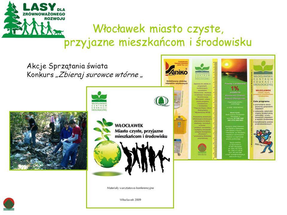 Włocławek miasto czyste, przyjazne mieszkańcom i środowisku Akcje Sprzątania świata Konkurs Zbieraj surowce wtórne