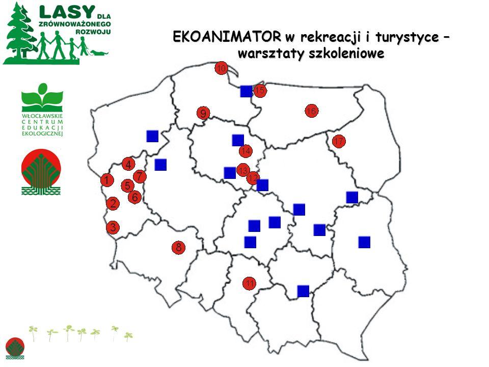 EKOANIMATOR w rekreacji i turystyce – warsztaty szkoleniowe