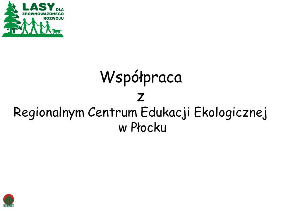 Współpraca z Regionalnym Centrum Edukacji Ekologicznej w Płocku
