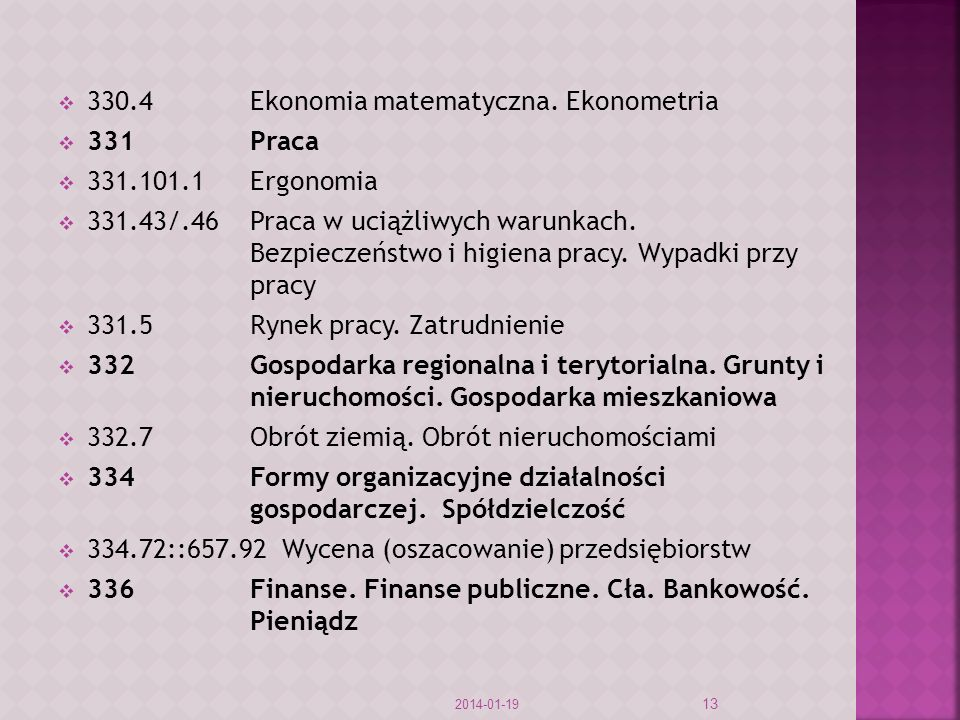 330.4Ekonomia matematyczna.