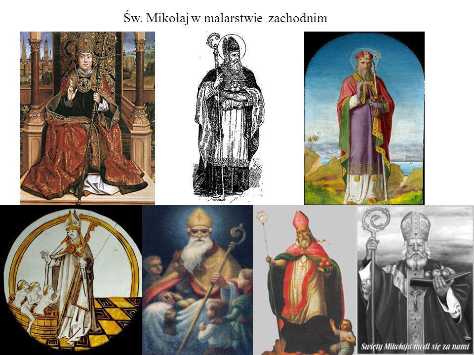 Św. Mikołaj w malarstwie zachodnim