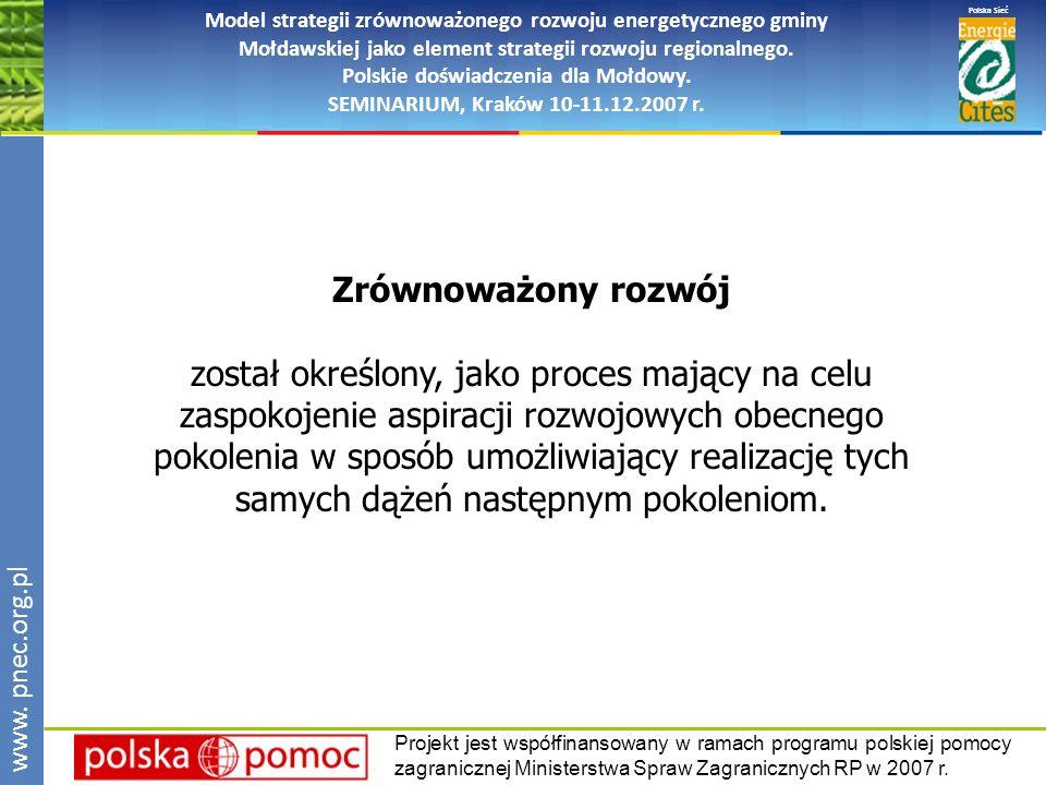 opis przedsięwzięć dlaczegocokto kiedy jakimi środkami instrument realizacji polityki gminy, dokument publiczny, motywujący, integrujący www.pnec.org.pl Polska Sieć www.