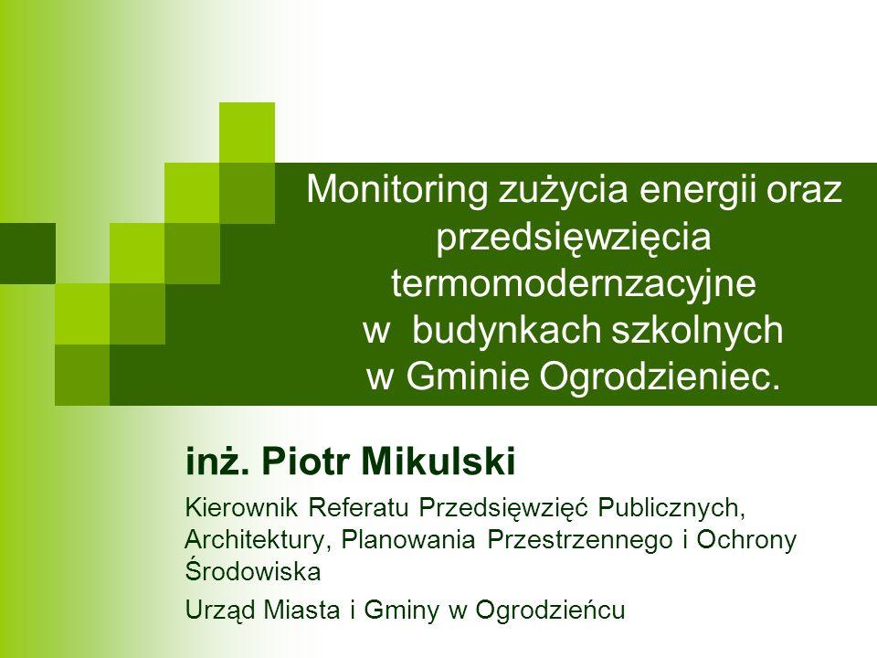 Likwidacja niskiej emisji spalin Szkoła Podstawowa nr 1 w Ogrodzieńcu