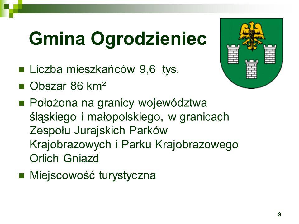 4 Perła Jury Niezwykły w skali Polski, piękny jurajski krajobraz.