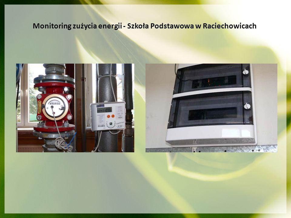 RUSE – Redictering Urban development towards Sustainable Energy - Rozwój obszarów zurbanizowanych w kierunku zrównoważonego wykorzystania energii (maj 2004 – kwiecień 2007) Główne cele projektu: przygotowanie czterech państw: Polski, Słowacji, Czech i Litwy do wykorzystywania Funduszy Strukturalnych w celu wzbogacenia wiedzy na temat zrównoważonego wykorzystywania energii sposoby na zagospodarowanie energii odnawialnej w gminie Rezultaty: Zbudowanie strategii klimatycznej dla gminy Raciechowice