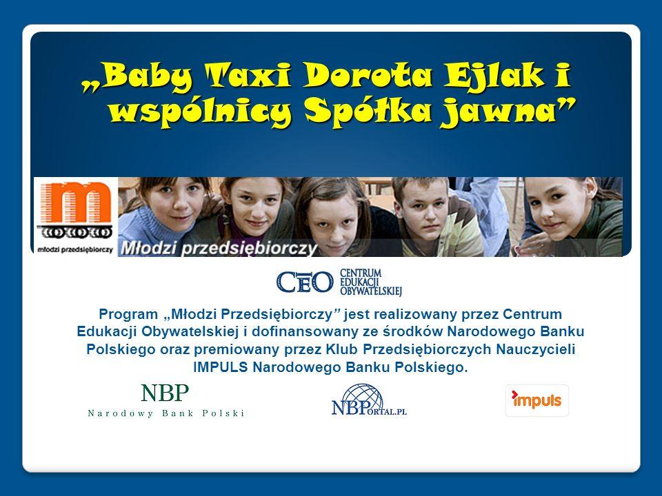 Program Młodzi Przedsiębiorczy jest realizowany przez Centrum Edukacji Obywatelskiej i dofinansowany ze środków Narodowego Banku Polskiego oraz premiowany przez Klub Przedsiębiorczych Nauczycieli IMPULS Narodowego Banku Polskiego.