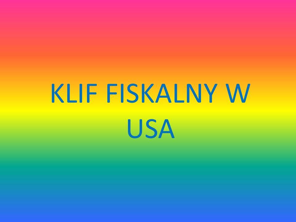KLIF FISKALNY W USA