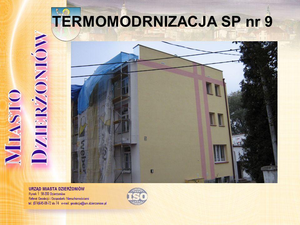 TERMOMODRNIZACJA SP nr 9