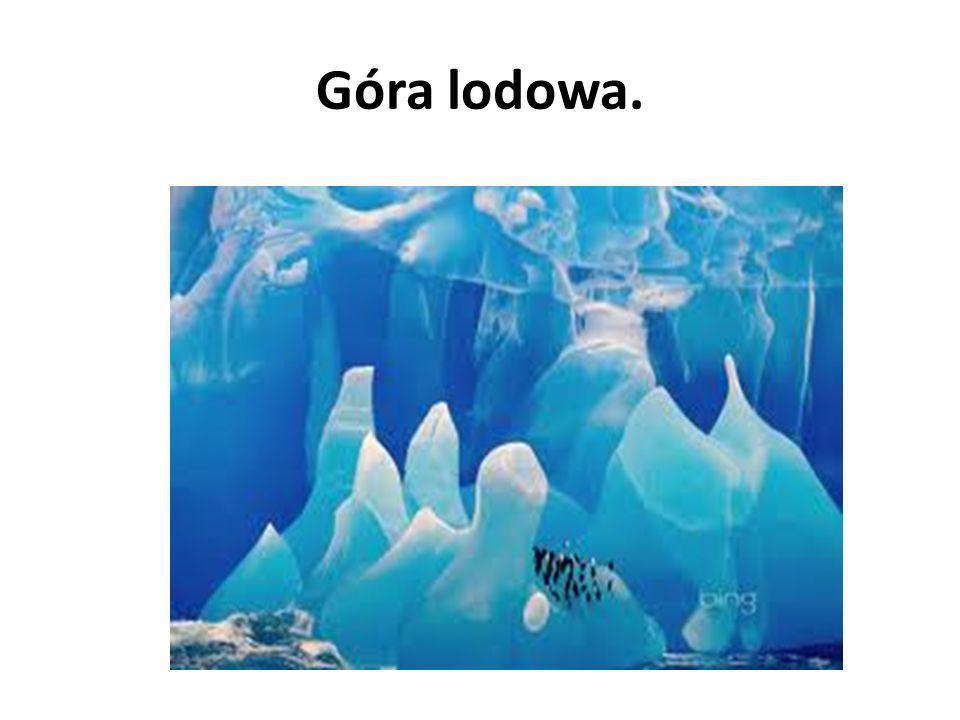 Góra lodowa.