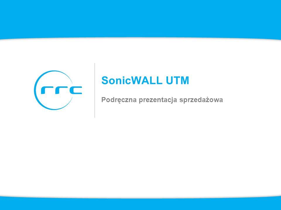 SonicWALL UTM Podręczna prezentacja sprzedażowa