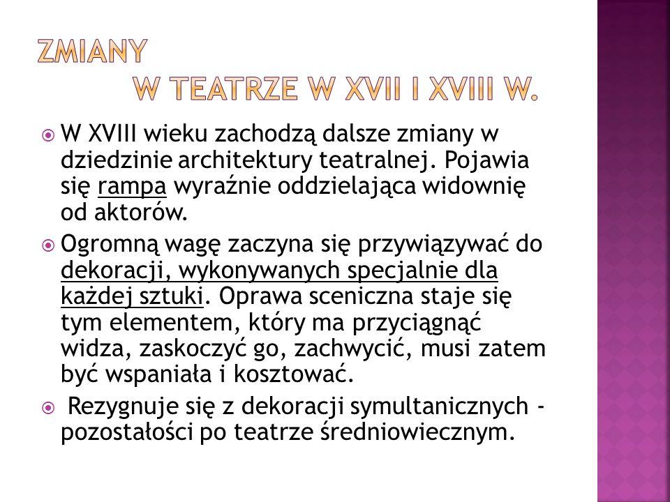 Kierownictwo sceny narodowej przechodziło z rąk do rąk i dopiero objęcie dyrekcji przez Wojciecha Bogusławskiego w roku 1783 zmieniło sytuację i podniosło jej znaczenie.