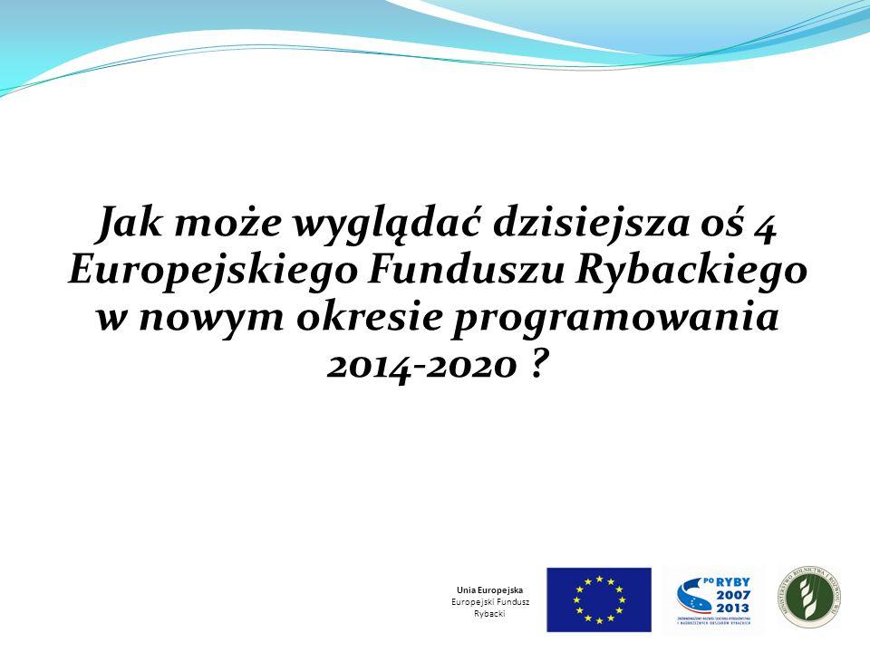 Jak może wyglądać dzisiejsza oś 4 Europejskiego Funduszu Rybackiego w nowym okresie programowania 2014-2020 .