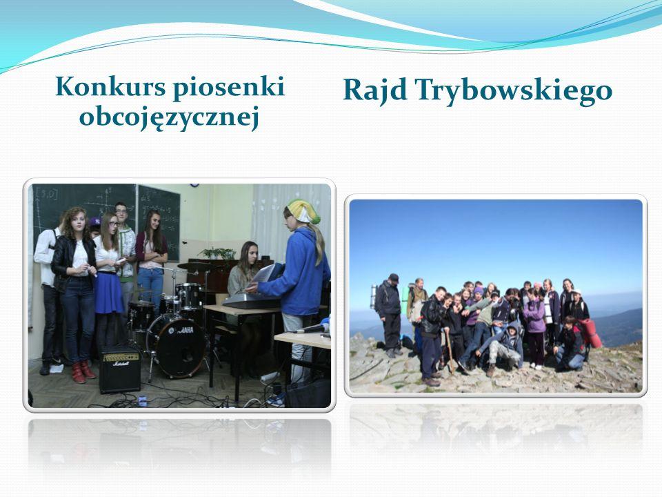 Konkurs piosenki obcojęzycznej Rajd Trybowskiego