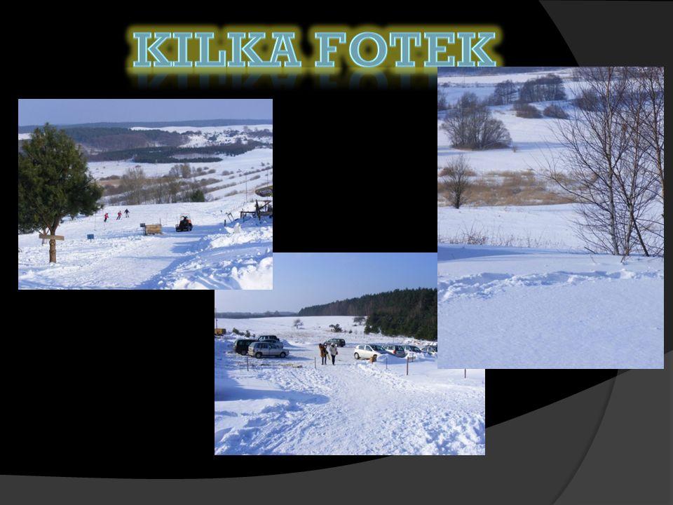 Zimą można tu uprawiać narciarstwo biegowe a nawet zjazdowe.