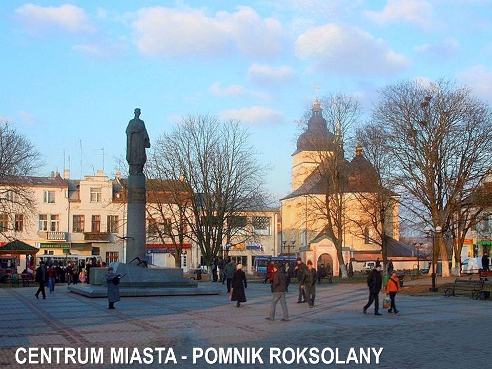 CENTRUM MIASTA - POMNIK ROKSOLANY