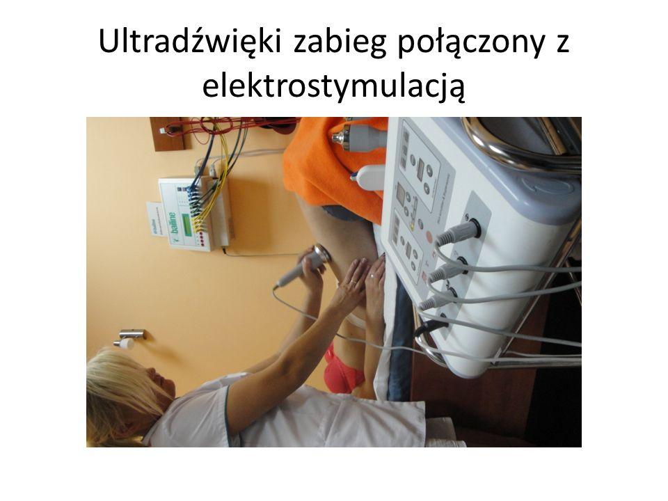 Ultradźwięki zabieg połączony z elektrostymulacją