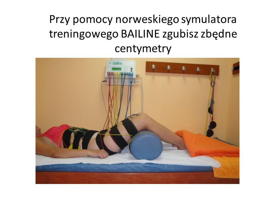 Przy pomocy norweskiego symulatora treningowego BAILINE zgubisz zbędne centymetry