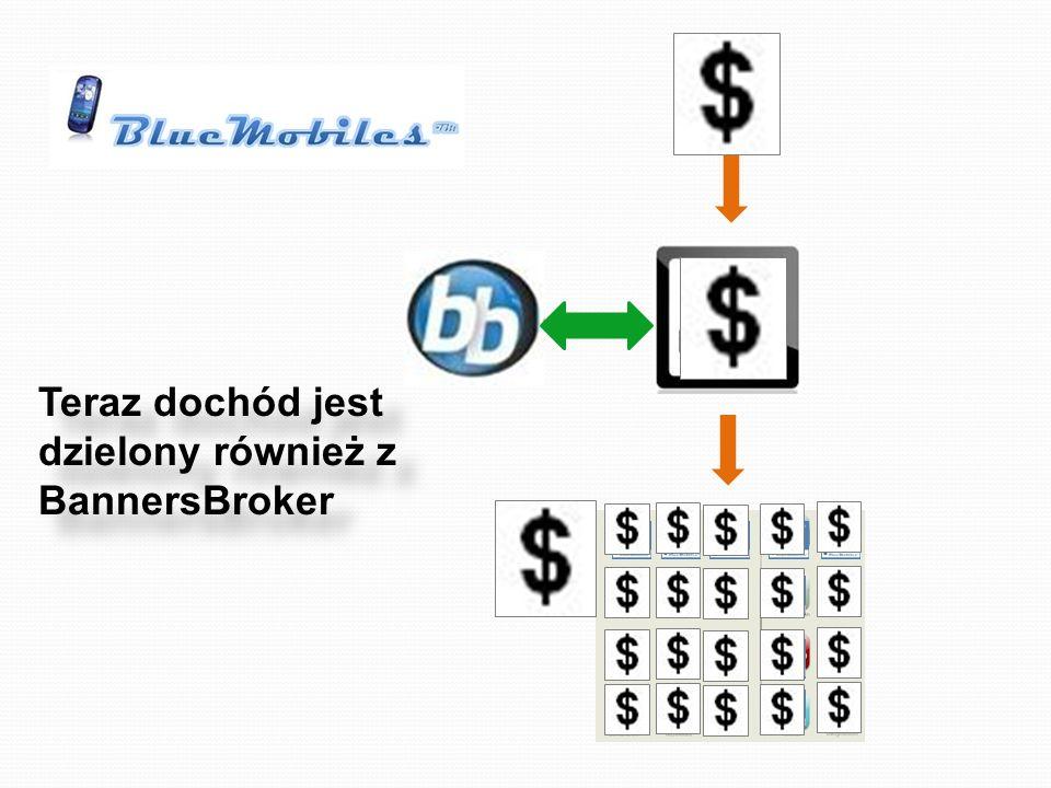 BUY NOW Teraz dochód jest dzielony również z BannersBroker