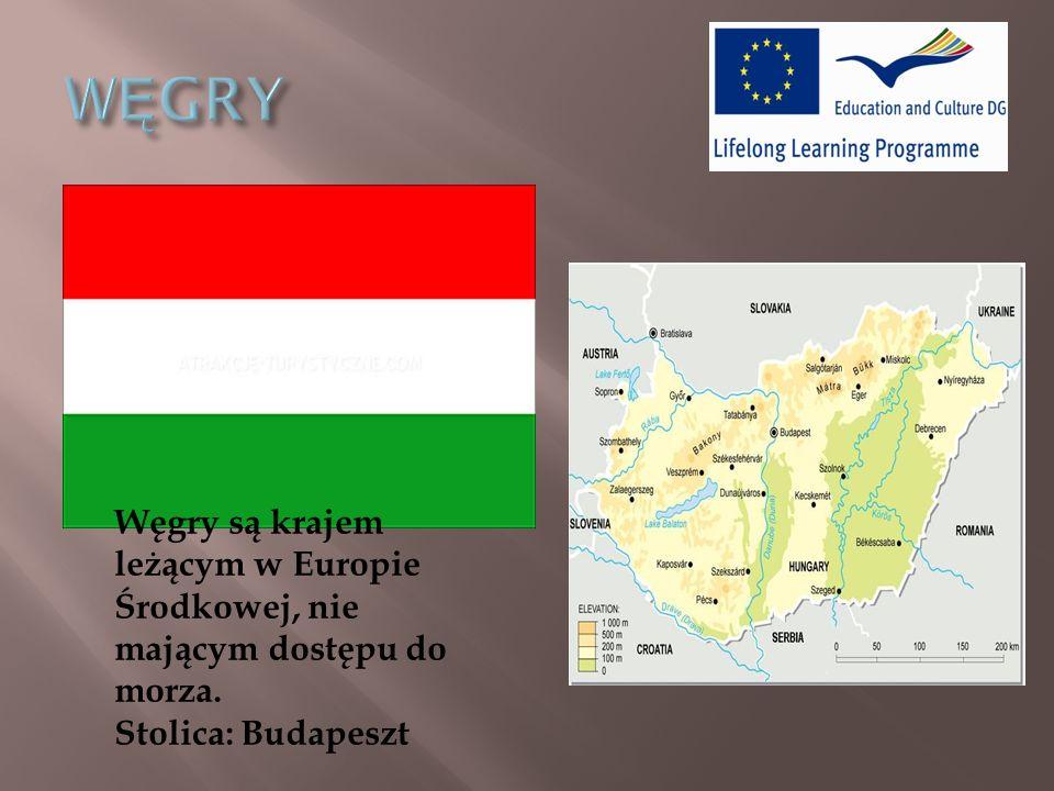 Węgry są krajem leżącym w Europie Środkowej, nie mającym dostępu do morza. Stolica: Budapeszt