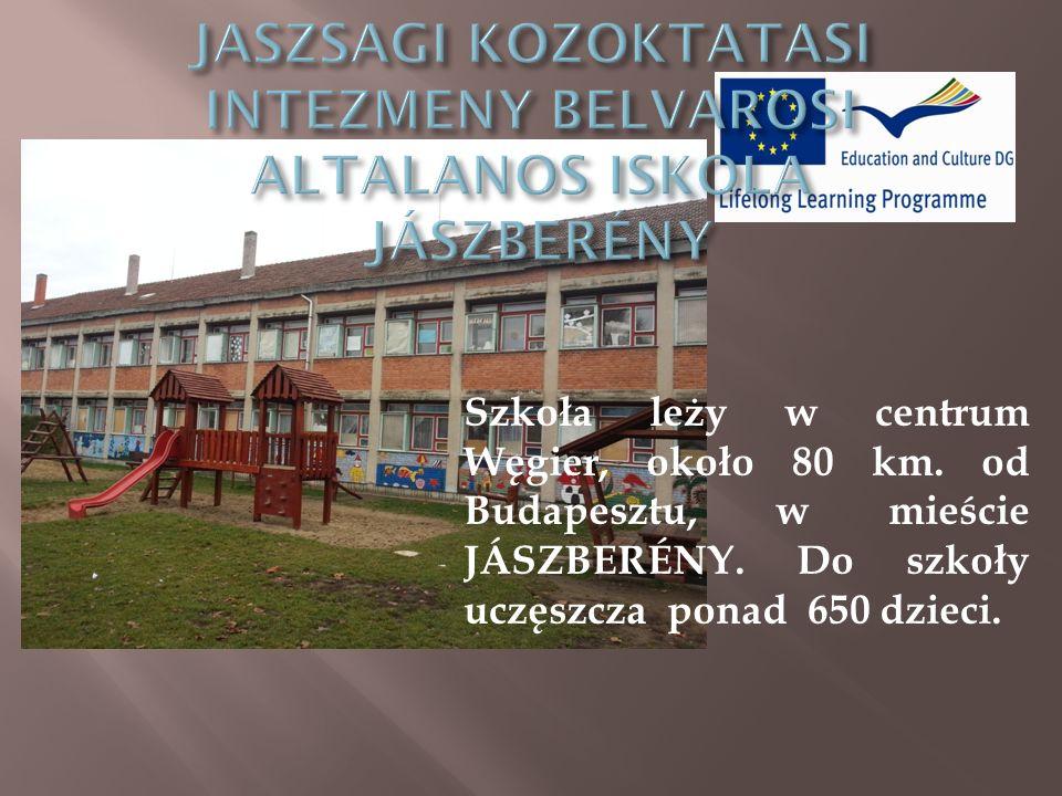 Szkoła leży w centrum Węgier, około 80 km.od Budapesztu, w mieście JÁSZBERÉNY.