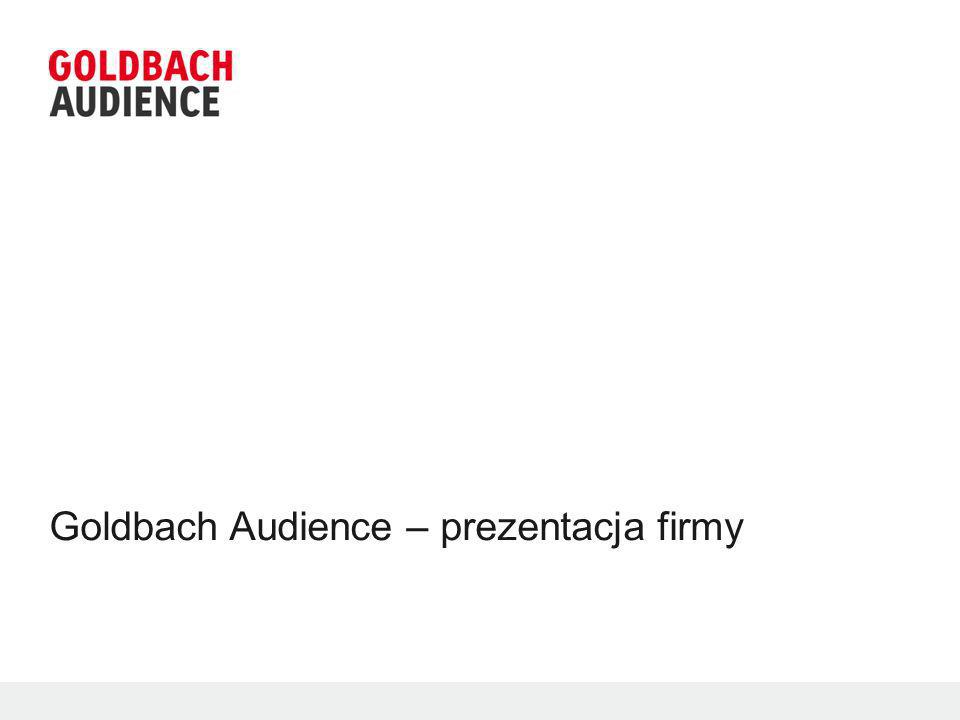 © 2012 Goldbach Audience12 iBillboard Główny adserwer AdmetaSmart Adserwer Adserwer dedykowany reklamie mobilnej Nugg.adBehavioral engineQuartic Inisnetsprint Platforma adexchangeowa, System do zbierania i zarządzania danymi behawioralnymi.