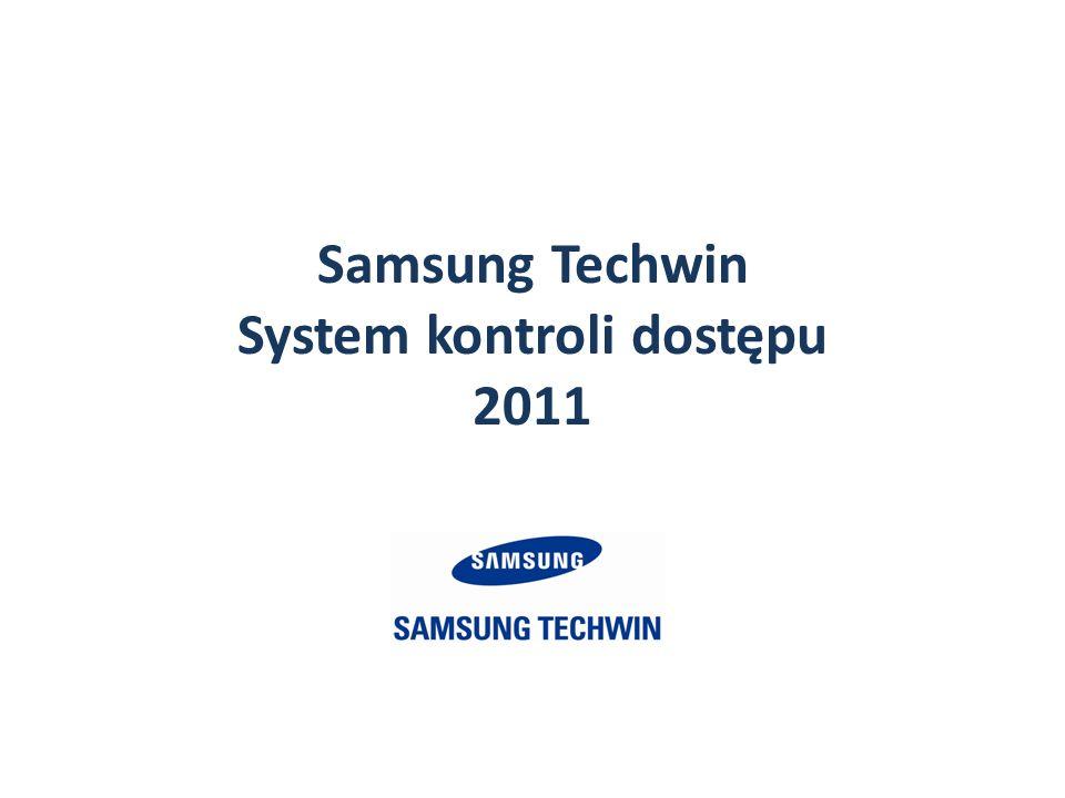 Samsung Techwin System kontroli dostępu 2011
