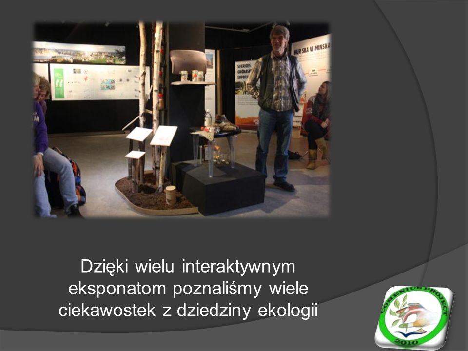 Dzięki wielu interaktywnym eksponatom poznaliśmy wiele ciekawostek z dziedziny ekologii