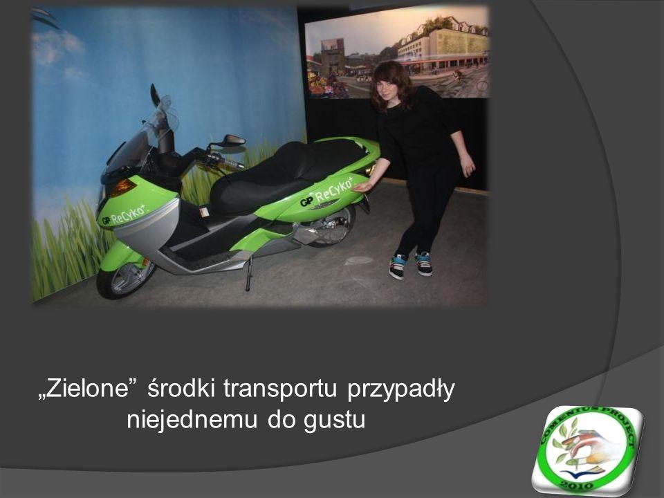 Zielone środki transportu przypadły niejednemu do gustu