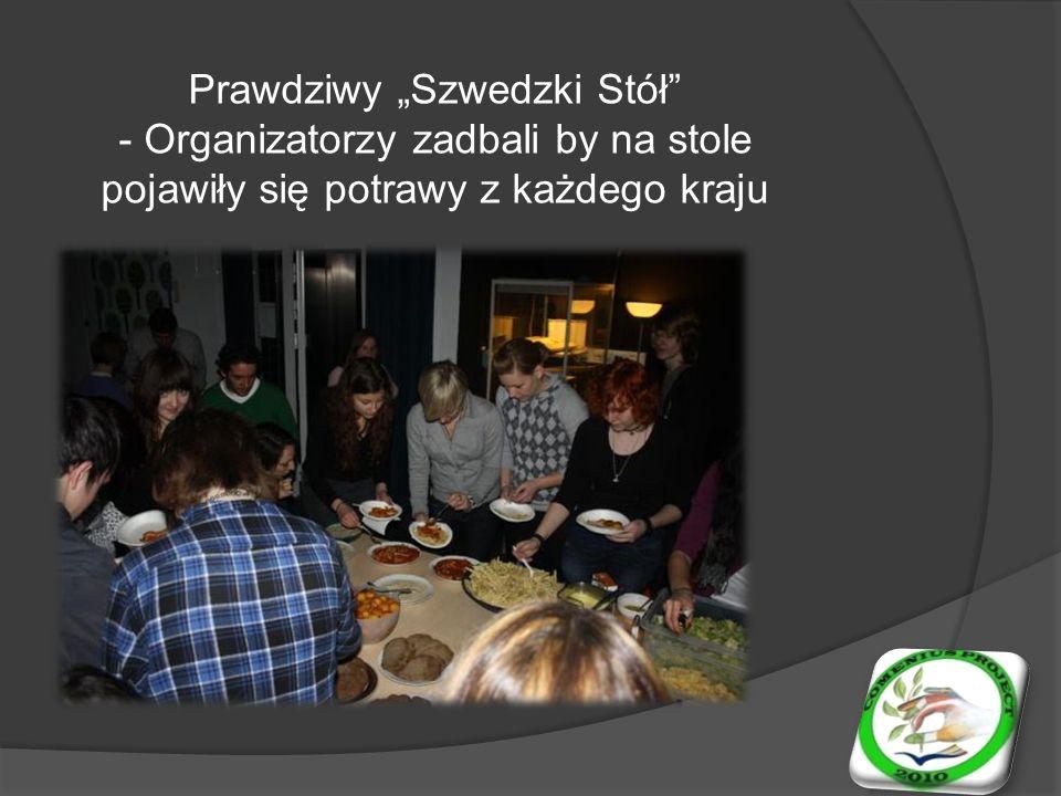 W wolnych chwilach integrowaliśmy z kolegami i koleżankami z Niemiec, Irlandii, Włoch i Szwecji