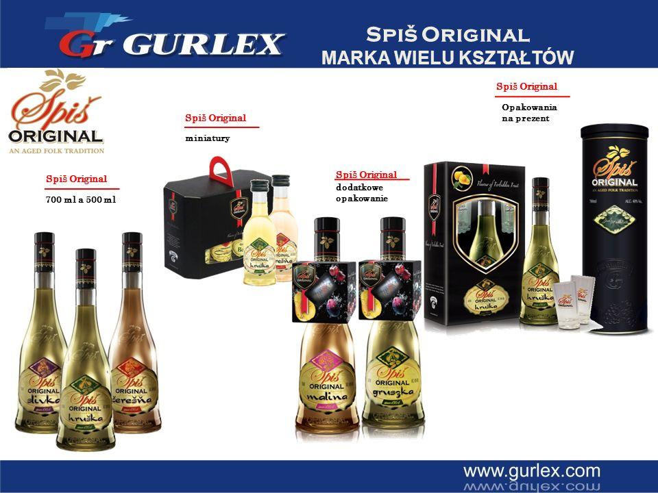 Spiš Original DYSTRYBUCJA 2003 / Slowacja 2005 / Wegry 2006 / Czechy 2009 / Polska 2009 / Anglia 2009 / Irlandia