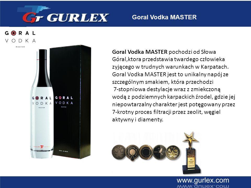 Goral Vodka MASTER DYSTRYBUCJA 2010 / Slowacja 2011 / Czechy 2011 / Polska 2011 / Ukrajina 2011 / Szwajcaria