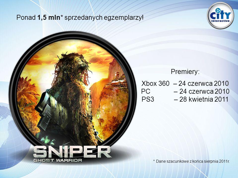 Ponad 1,5 mln* sprzedanych egzemplarzy! Premiery: Xbox 360 – 24 czerwca 2010 PC – 24 czerwca 2010 PS3 – 28 kwietnia 2011 * Dane szacunkowe z końca sie