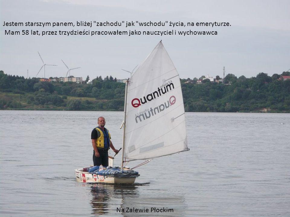 Obóz szkoleniowy na stopień żeglarza jachtowego Jezioro Płaskie, Sierpień 2001r