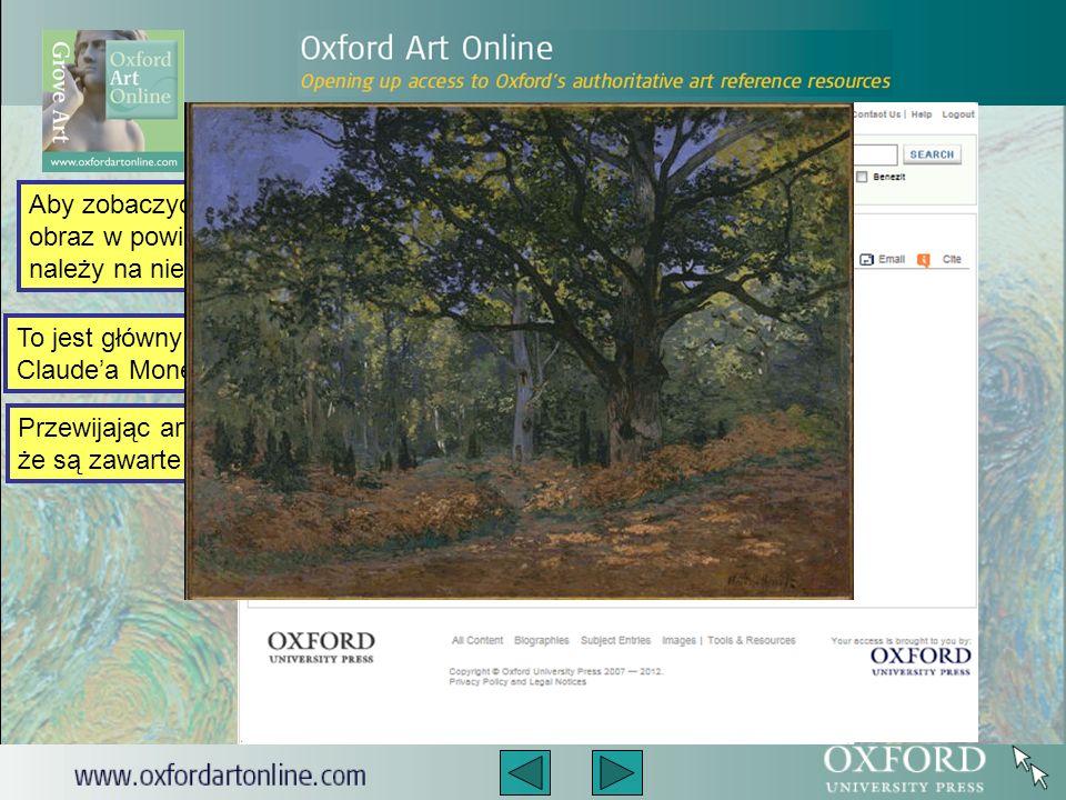 To jest główny artykuł na temat Claudea Moneta.
