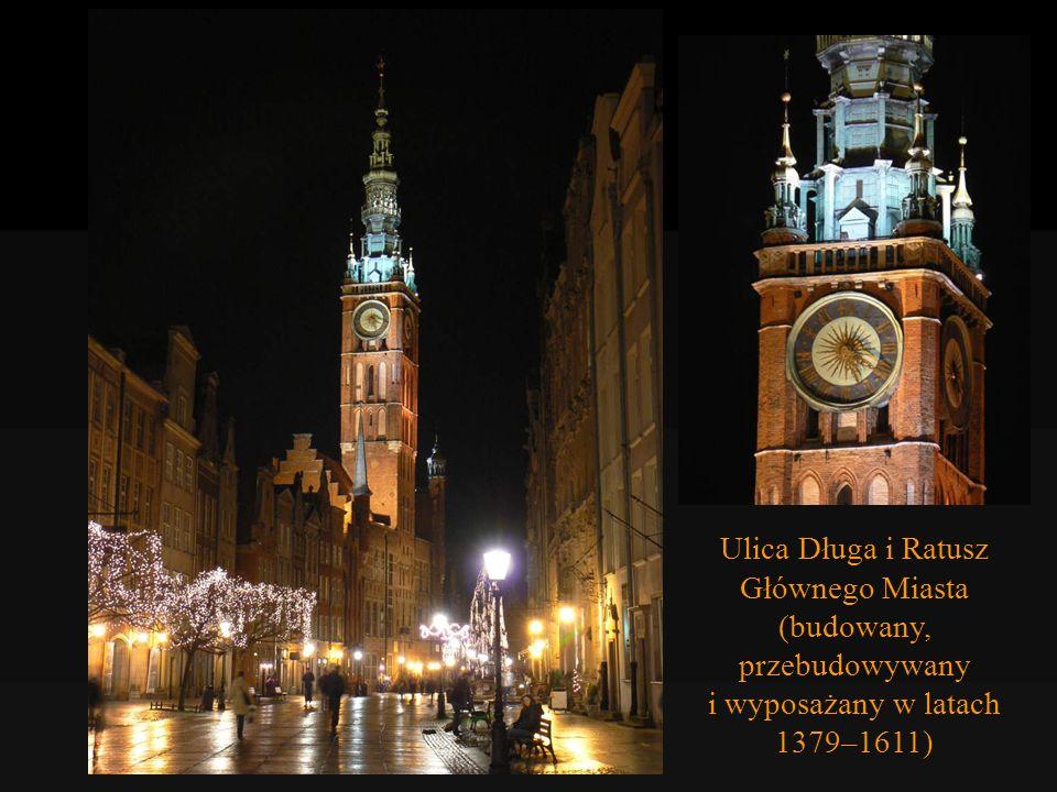 Dwór Bractwa św. Jerzego (1494 r.) św. Jerzy pokonuje smoka – zwieńczenie wieżyczki Dworu