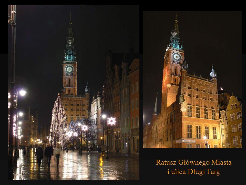 Ulica Długa i Ratusz Głównego Miasta (budowany, przebudowywany i wyposażany w latach 1379–1611)
