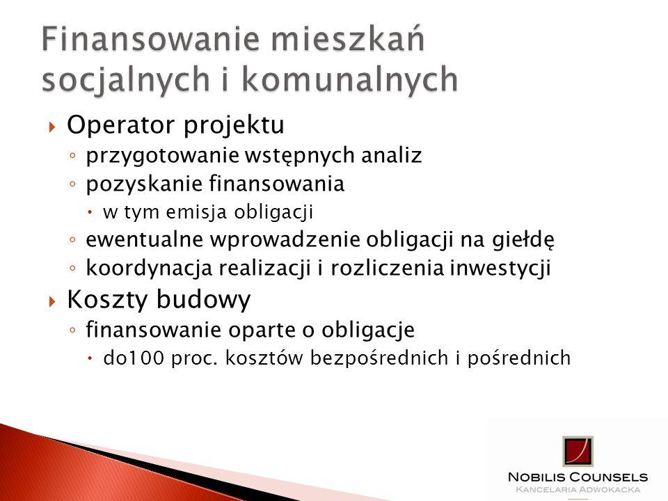 Papiery wartościowe emitowane w serii emitentem m.in.