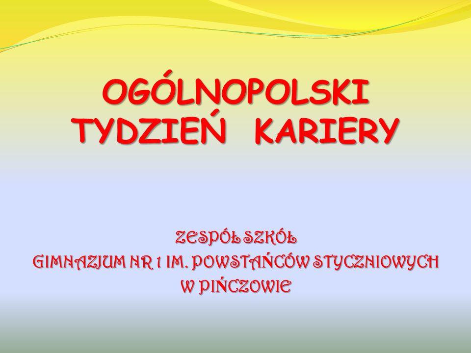 Warsztaty z doradc ą zawodowym z Młodzie ż owego Centrum Kariery w Busku Zdroju