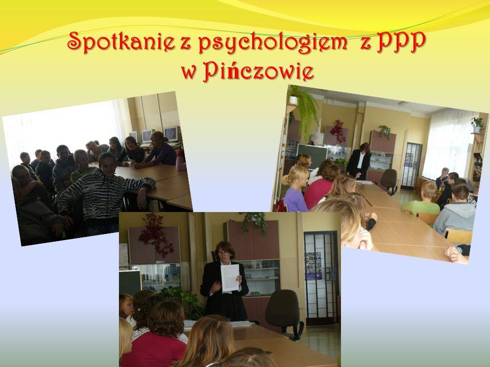Spotkanie z policjantem z KPP w Pi ń czowie