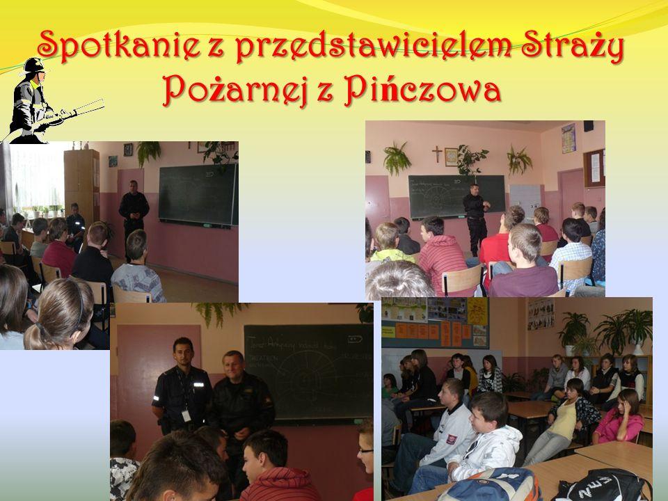 Spotkanie z psychologiem z PPP w Pi ń czowie