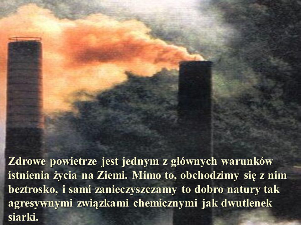 Zanieczyszczenie powietrza Porównywanie ułamków o różnych licznikach i mianownikach Anna Gadomska Szkoła Podstawowa Nr 79 Łódź