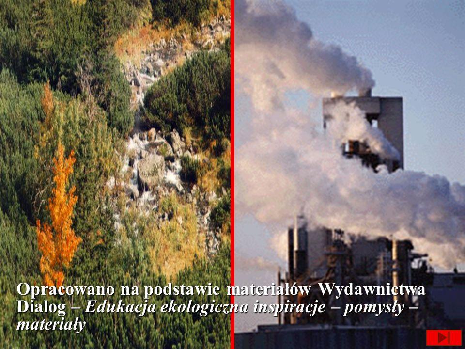 Jakie substancje zanieczyszczają powietrze? OłówSadza Tlenek azotu Tlenek węgla...