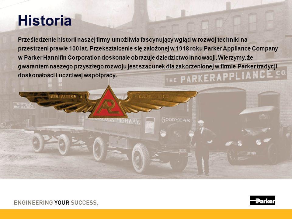Historia Prześledzenie historii naszej firmy umożliwia fascynujący wgląd w rozwój techniki na przestrzeni prawie 100 lat. Przekształcenie się założone