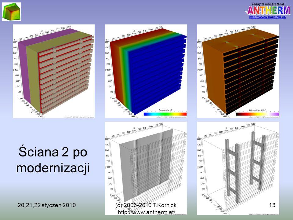 (c) 2003-2009 T.Kornicki http://www.kornicki.at/ 13 Ściana 2 po modernizacji 20,21,22 styczeń 201013(c) 2003-2010 T.Kornicki http://www.antherm.at/