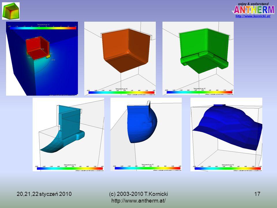 20,21,22 styczeń 2010(c) 2003-2010 T.Kornicki http://www.antherm.at/ 17